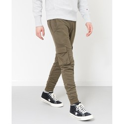 Clothing Men Tracksuit bottoms The Idle Man Cargo Joggers Green Green