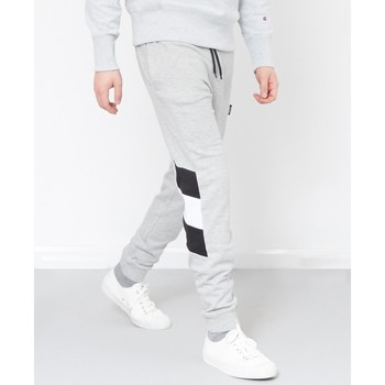 Clothing Men Tracksuit bottoms The Idle Man Contrast Panel Jogger Grey Grey