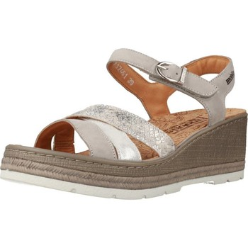 Shoes Women Sandals Mephisto BENITA BUCK Grey