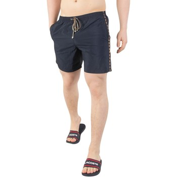 Clothing Men Shorts / Bermudas Aquascutum Men's Dante Swim Shorts, Blue blue