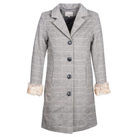 Clothing Women coats Cream CHLOE Grey