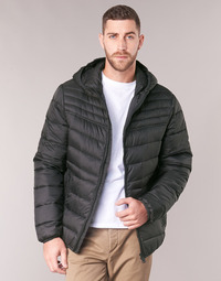 Clothing Men Duffel coats Geox DENNIE Black