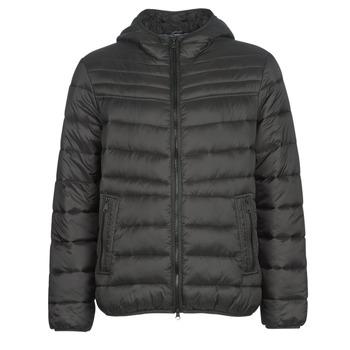 Clothing Men Duffel coats Geox DENNIE Black