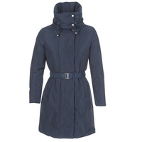 Clothing Women Parkas Geox KENLY Marine