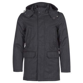 Clothing Men Parkas Geox WINFRIED Black