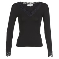 Clothing Women Long sleeved tee-shirts Morgan TRACY Black