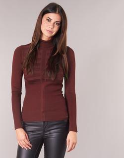 Clothing Women jumpers Morgan MENTOS Bordeaux