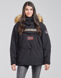 Clothing Women Parkas Napapijri SKIDOO Black
