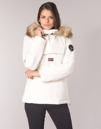 Clothing Women Parkas Napapijri SKIDOO White