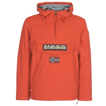 Clothing Men Parkas Napapijri RAINFOREST WINTER Orange