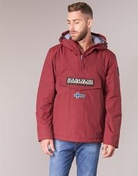 Clothing Men Parkas Napapijri RAINFOREST WINTER Bordeaux