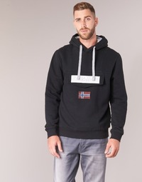 Clothing Men sweaters Napapijri BURGEE Black
