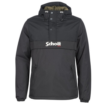 Clothing Men Parkas Schott HUSKY 18 Black