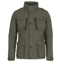 Clothing Men Parkas Schott FIELD Kaki