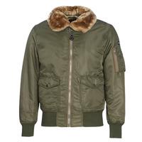 Clothing Men Jackets Schott OHARA Kaki