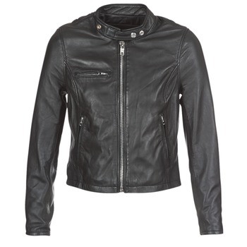 Clothing Women Leather jackets / Imitation leather Schott LCW9641A Black