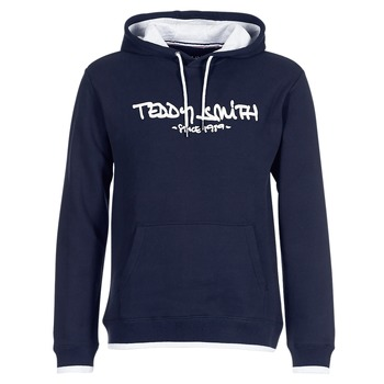 Clothing Men Sweaters Teddy Smith SICLASS HOODY Marine