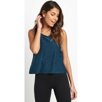Clothing Women Tops / Sleeveless T-shirts Beyond Yoga Weekend Traveler Cropped Tank Multicolour