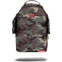 Bags Men Rucksacks Sprayground Gold Camo Drip Wings Backpack - Camo Multicolour