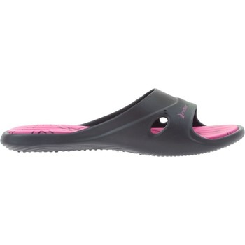 Shoes Women Mules Rider 82214 Black-Pink