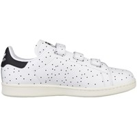 Shoes Women Low top trainers adidas Originals Stan Smith CF W White-Black