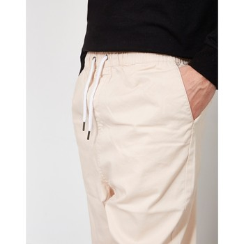Clothing Men Cropped trousers The Idle Man Loose Fit Cropped Chino Pink Pink