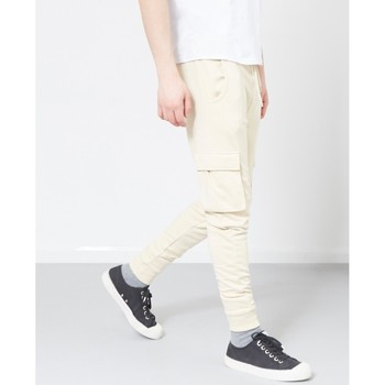 Clothing Men 5-pocket trousers The Idle Man Cargo Joggers Stone Black