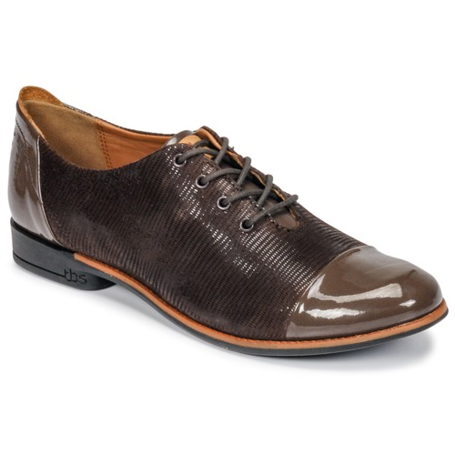 Shoes Women Derby Shoes TBS MISSIES Brown