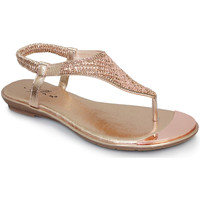 Shoes Women Sandals Lunar Ladies Florence Toe Post Sandal Rose Gold