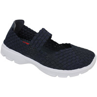 Shoes Women Low top trainers Lunar Ladies Riptide Elastic Shoe Dark Navy (Blue)