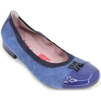 Shoes Women Shoes CallagHan 23100 Women's Ballerinas blue