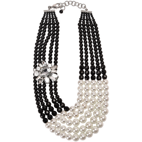 Watches Women Necklaces Miss June Necklace JUNON Black Woman Spring/Summer Collection Black