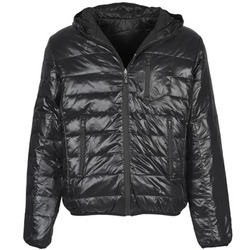 Clothing Men Duffel coats Umbro DIAMOND-DOUDOUNE-NOIR-SCHISTE Black