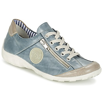 Shoes Women Low top trainers Remonte Dorndorf GUIZELLE Blue / Brown