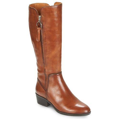 Shoes Women High boots Pikolinos DAROCA W1U Camel