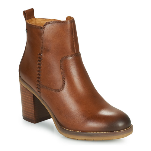 Shoes Women Ankle boots Pikolinos POMPEYA W9T Camel