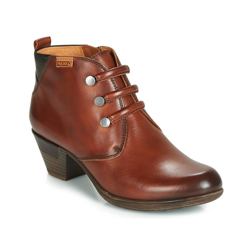Shoes Women Ankle boots Pikolinos ROTTERDAM 902 Brown