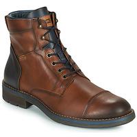 Shoes Men Mid boots Pikolinos YORK M2M Brown / Marine