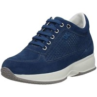 Shoes Women Low top trainers Lumberjack Sw01305-008-p25 Lace-ups Air Force Blue