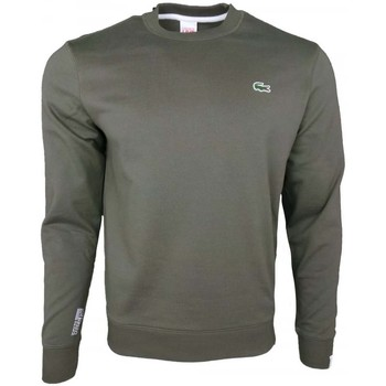 Clothing Men sweaters Lacoste Classic Crew Sweat green