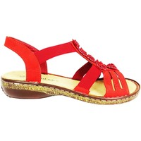Shoes Women Sandals Amblers Belice Red