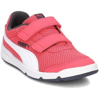 Shoes Children Low top trainers Puma Stepfleex 2 Pink