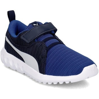 Shoes Children Low top trainers Puma Carson 2 V PS Navy blue
