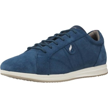 Shoes Women Low top trainers Geox D AVERY Blue