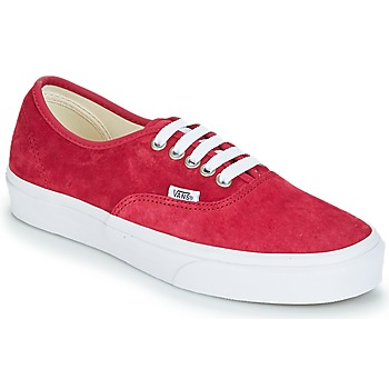 Shoes Women Low top trainers Vans AUTHENTIC Red