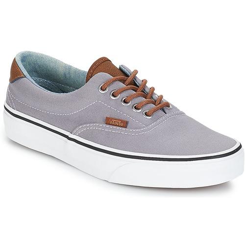 a9fecf0527fec3 Vans ERA 59 Grey - Free delivery with Spartoo UK ! - Shoes Low top ...