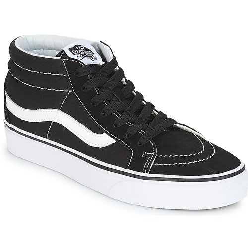 Shoes Hi top trainers Vans SK8-MID REISSUE Black / White