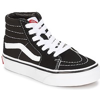 Shoes Children Hi top trainers Vans UY SK8-HI Black