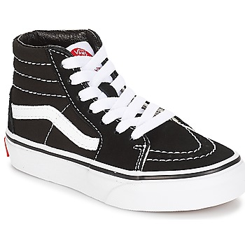 Shoes Children Hi top trainers Vans UY SK8-HI Black / White
