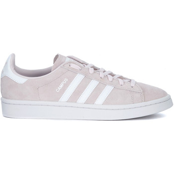 Shoes Women Low top trainers adidas Originals Sneaker  Campus in nubuck rosa Pink